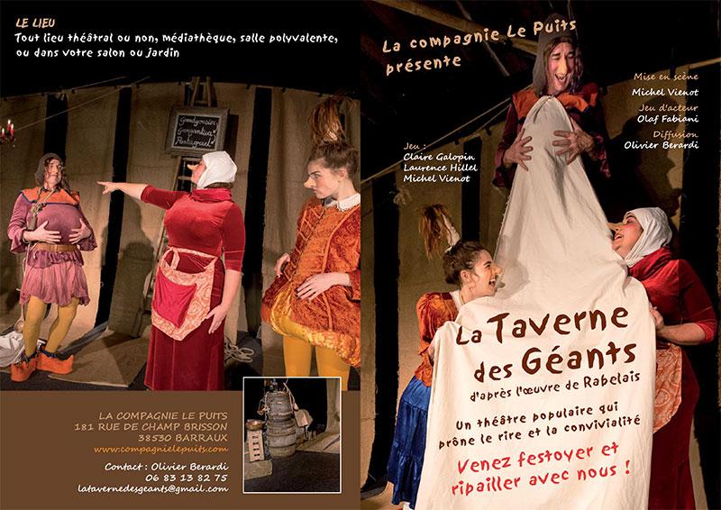 Article: plaquette de la Taverne des Géants