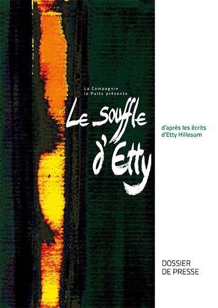 Article: Dossiers du spectacle 'Le souffle d'Etty'