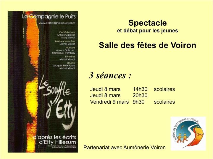Article: Voiron - 'Le souffle d'Etty'